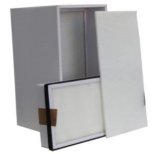 Ersatzfilter (Komplett-Set) für Rauch- und Gasabsaugung Typ VAUPEL LAB-2D/W und LAB-1F