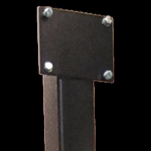 *Montageplatte für Bodenständer Typ FP (zur Wandmontage)