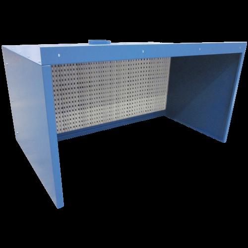 VAUPEL_Absaugwand Typ UP mit Seitenwänden und Decke (optional)