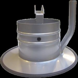 VAUPEL Absaugtrichter Typ ST - für Teleskopabsaugarm Typ TGI