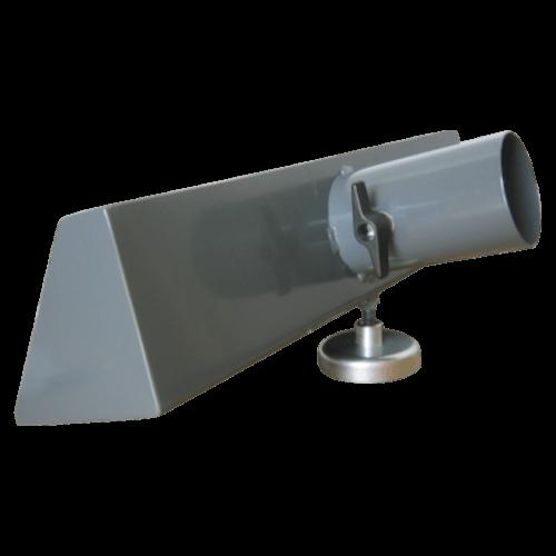 VAUPEL_Schlitzdüse mit Klappe und Magnet Typ LSP-MS wahlweise Ø 80mm und Ø 100mm