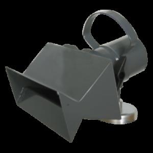 Absaughaube mit Magnet und Klappe Typ FF-MS für niedrigen bis hohen Druck