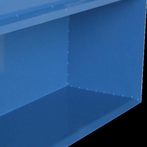 VAUPEL_Wirbelstromhaube Typ Turbowand GT mit gerader Rückwand (Variante A) - Detailansicht