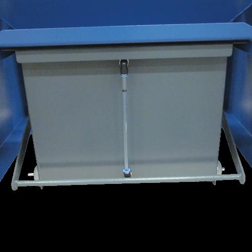 VAUPEL_Funkenvorabscheider Typ FUV - Detailbild Wasserbehälter