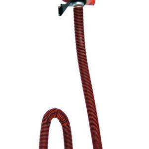Einzel-Abgas-Absaugung Set Typ OW - hängende KFZ Abgasabsaugung
