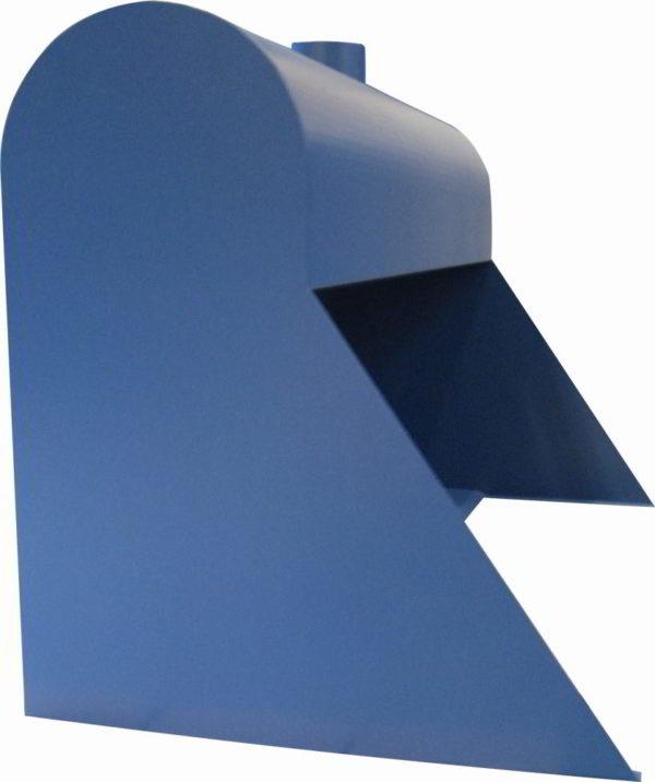 schräger Seitenwandsatz für Turbowand Typ GT (A- & B- Ausführungen)
