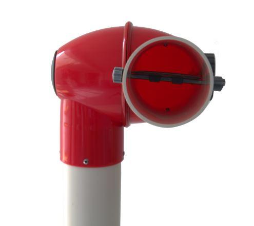 Absaugarm Ventilklappe Absaugarm für Feinstaub Typ LA-1-F | Vaupel-Shop