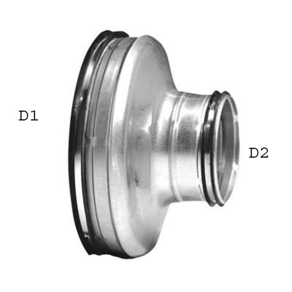 Reduzierung Typ RCU - DN 80-180mm