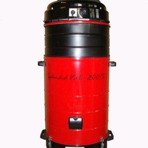 Mobile Hochvakuumabsauganlage Typ Splendid SK(A) mit automatischer oder manueller Abreinigung