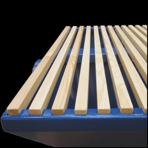 VAUPEL_Absaugtisch UBP im Standard mit Holzstreben - Höhenverstellbar