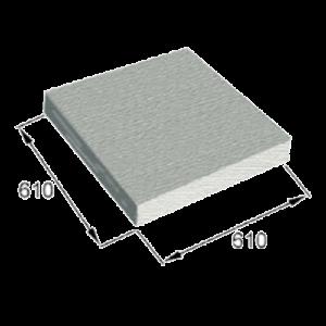 VAUPEL_austauschbarer_Filterfaserstoff_für_Filterkassette_FPS_Farbspritzwand
