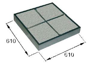 Filterkassette mit Faserstoff für Farbspritzwand FPS