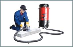 Steinstaubabsaugung Rapid VAC