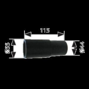 VAUPEL_Verbindungsstück für Hochvakuumfiltergeräte Splendid und Rapid